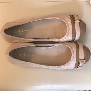 Tan Cole Haan Ballet Flats with Nike size 7 1/2